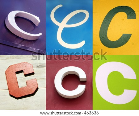C letter - the Urban collection