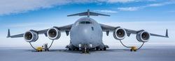 C-17 Refueling in Antarctica