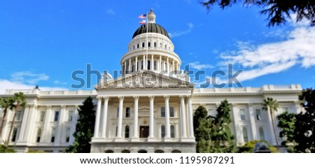 CA State Capitol #1195987291