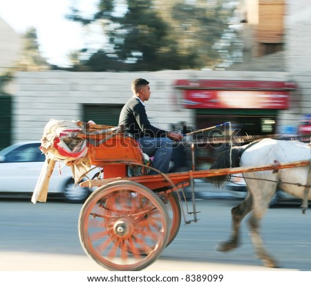 Cab in Cairo