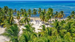 Cabeza de Toro beach, Punta Cana, Dominican Republic. A place for a beautiful wedding