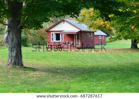 Cabin in the woods #687287617