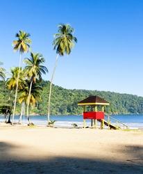 cabin on the beach, Maracas Bay, Trinidad