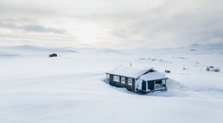 Cabins in the north of Norway