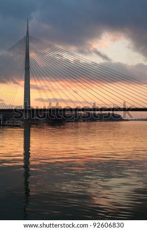 cable bridge Ada