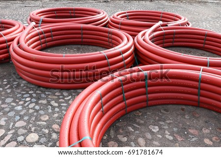Cable conduit for trenchless installations, Cable Protection #691781674