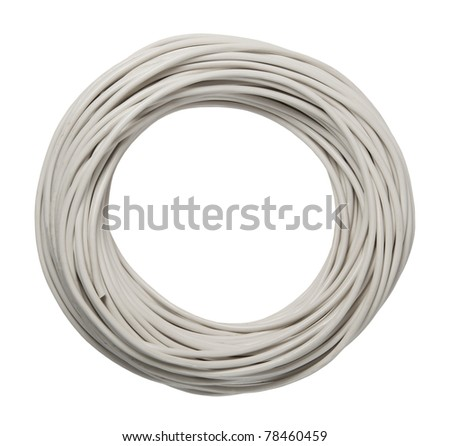 cable s isolated on a white background