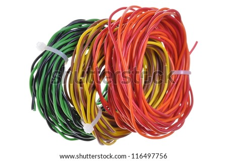 Cable scrap after installation
