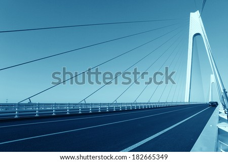 Cable-stayed bridge #182665349