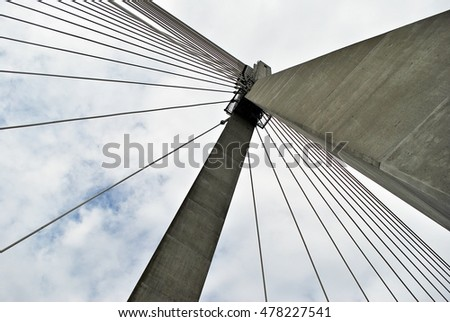 Cable-stayed bridge #478227541