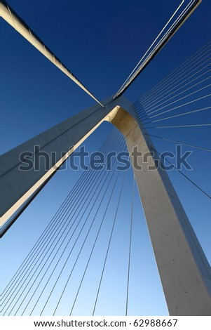 Cable-stayed bridge #62988667