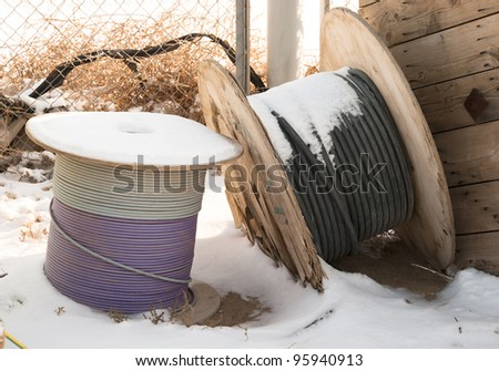 Cable storage on warehouse