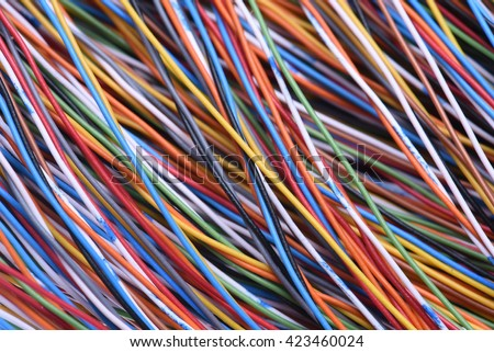 Cables and wires of telecomunication and computer systems #423460024