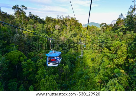 Shutterstock Cableway leading to Genting Highland in Kuala Lumpur, Malaysia