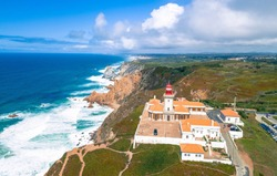Cabo de Roca, the westernmost point of Continental Europe
