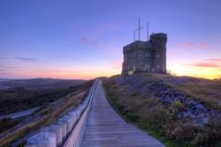 Cabot Tower in St. John's.