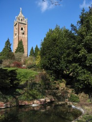 Cabot Tower pond
