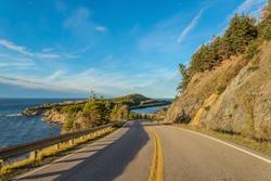 Cabot Trail Scenic view (Cape Breton, Nova Scotia, Canada)