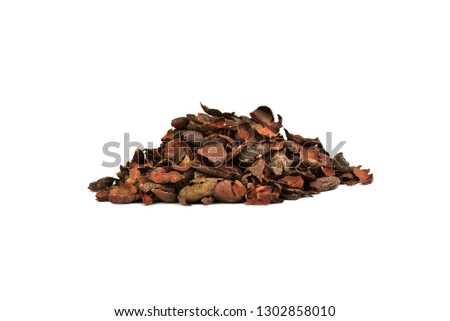 Cacao beans shells (nibs)