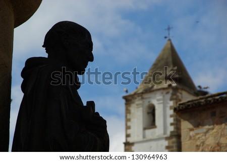 Caceres Statue Foto stock ©