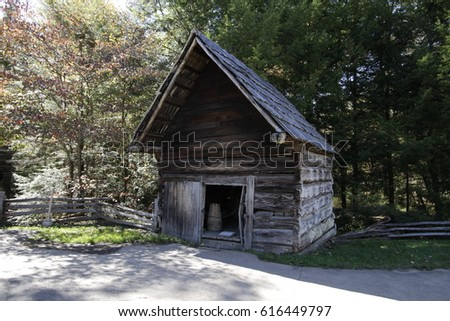 Cades Cove Tennessee Historical Building / Cades Cove Tennessee Historical Building / Cades Cove Tennessee Historical Building /  #616449797