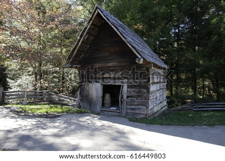 Cades Cove Tennessee Historical Building / Cades Cove Tennessee Historical Building / Cades Cove Tennessee Historical Building /  #616449803