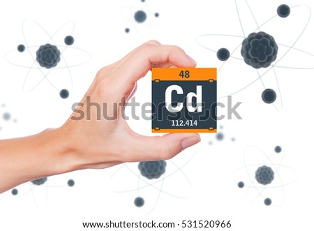 Royalty Free Calcium Element Symbol Handheld And 415258549 Stock