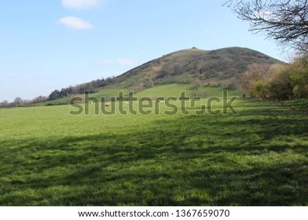 Caer Caradoc, tallest hill in Church Stretton, Shropshire.  #1367659070