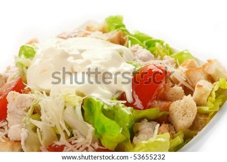 Caesar Salad with mayonnaise