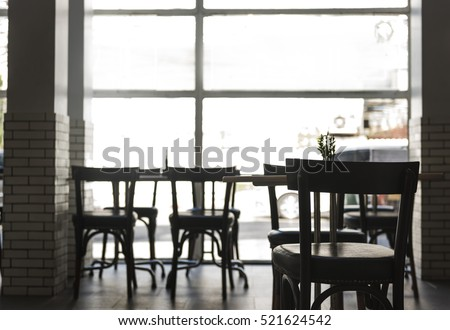 cafe coffee shop interior...