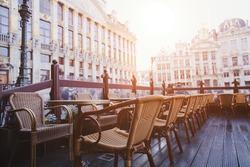 cafe in Brussels, Belgium