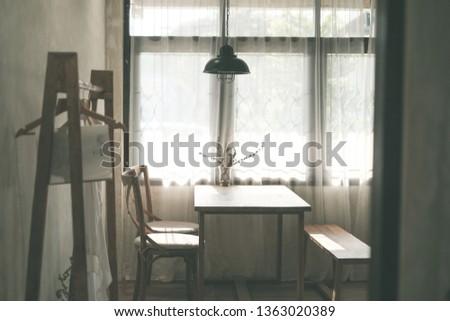 cafe interior design #1363020389