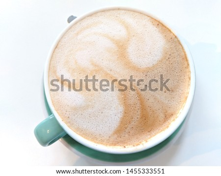 Cafe Mocha with Macadamia Milk at Leaves (Montagne) in Montreal #1455333551