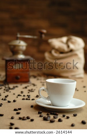 caffee gringer and cup