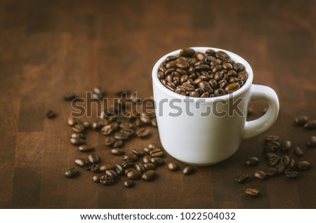 Caffeinated Mocha Java flavored coffee beans. One of the many favorite blends best served hot first thing in the morning.