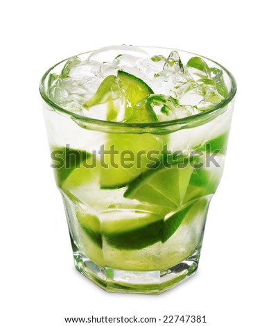Quán Bar điểm hẹn sắc màu  - Page 5 Stock-photo-caipirinha-national-cocktail-of-brazil-made-with-cachaca-sugar-and-lime-isolated-on-white-22747381