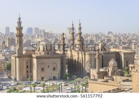 Cairo skyline as seen from the Castle - Egypt #561157792