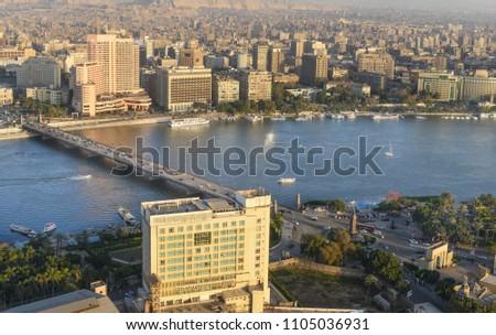 Cairo skyline - Cairo, Egypt #1105036931