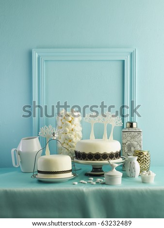cake for party - stock photo