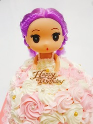 Cake Happybirthday girl cute princess