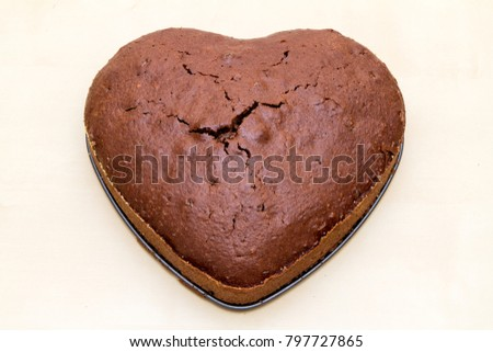 cake heart shaped #797727865