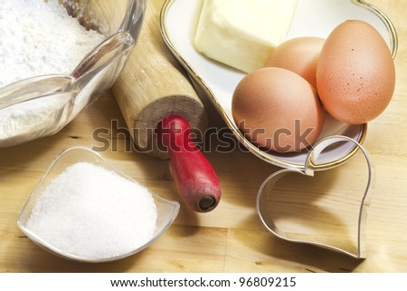 cake ingredients