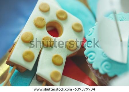 cake like letter a 639579934