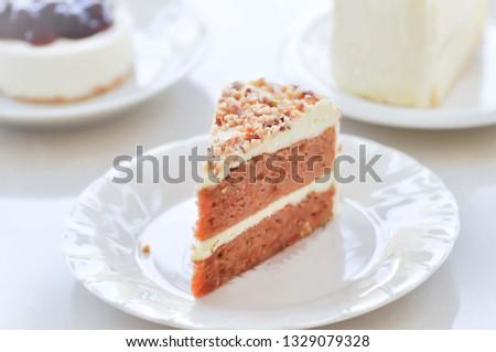 cake or carrot cake, almond cake