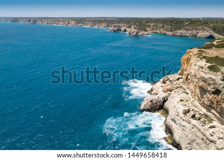 cala del moro Bay in Mallorca #1449658418