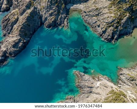 Cala in with posidonia in Cap de Creus Stock fotó ©