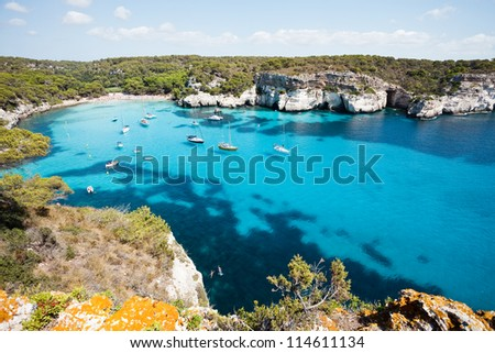 Cala Macarella - Cala Macarelleta - Menorca - Balearic islands - Spain