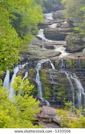 Calasuja falls, Franklin, North Carolina