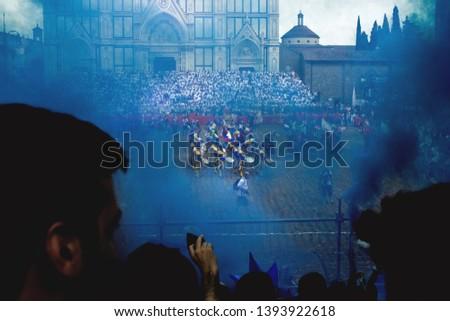 Calcio storico fiorentino historical football in Florence Final match #1393922618