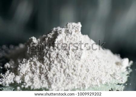 Calcium hydroxide as a powder